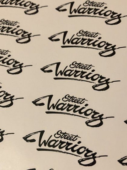 stree warriors. uzlīmes(10gb.)